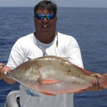 Some nice Mutton Snapper in about 185 feet of water